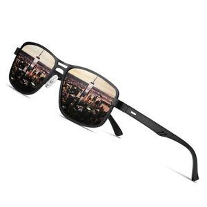 AOFLY-Brand-2020-Fashion-Sunglasses-Men-Polarized-Square-Metal-Frame-Male-Sun