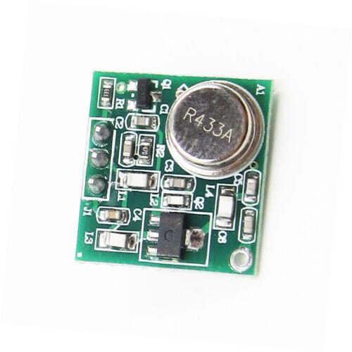 1PCS NEW Practical DC 9V-12V Wireless FM Transmitter Board Module 433MHz  CA