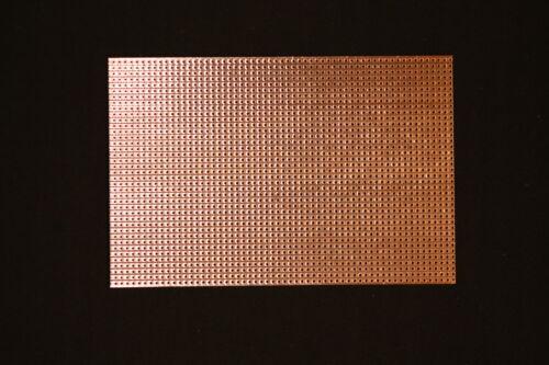RM 2,54mm Lochrasterplatine 150 x 100mm Streifenraster // Lötstreifen