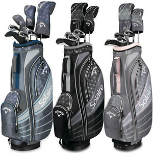 New-2018-Callaway-Solaire-8-Piece-Womens-Golf-Package-Set-Black-or-Cherry