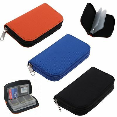 Memory Card Carrying Case Storage  Holder Bag Wallet For CF/SD/SDHC/MS/DS Games
