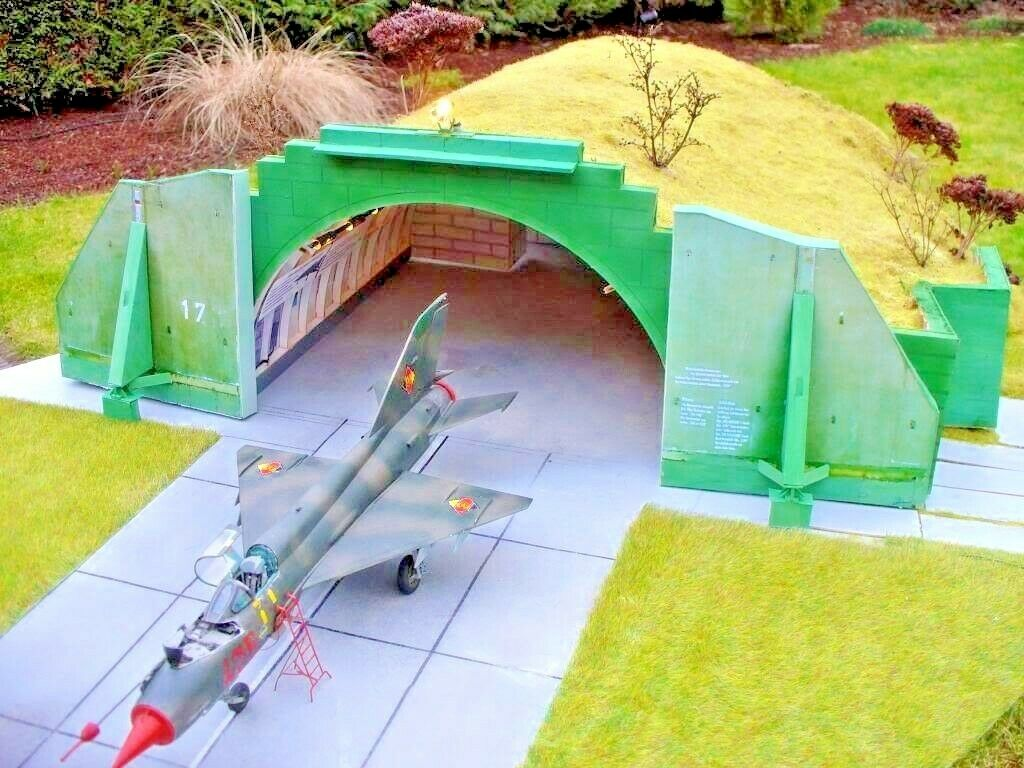 Aircraft Shelter 1 48 scale  Warsaw Pact Shelter Model Kit (LASERCUT PARTS)  NEW