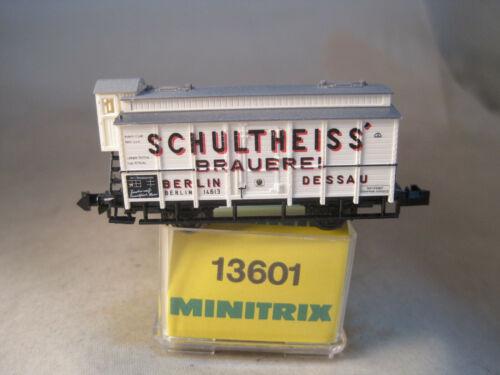 Minitrix schöner DRB Güterwagen für Sammler   neu mit OVP  13601