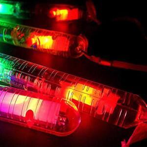 Light-Up-Flashing-Rave-Sticks-LED-Flashing-Strobe-Chopsticks-Concerts-Glow-A6H8