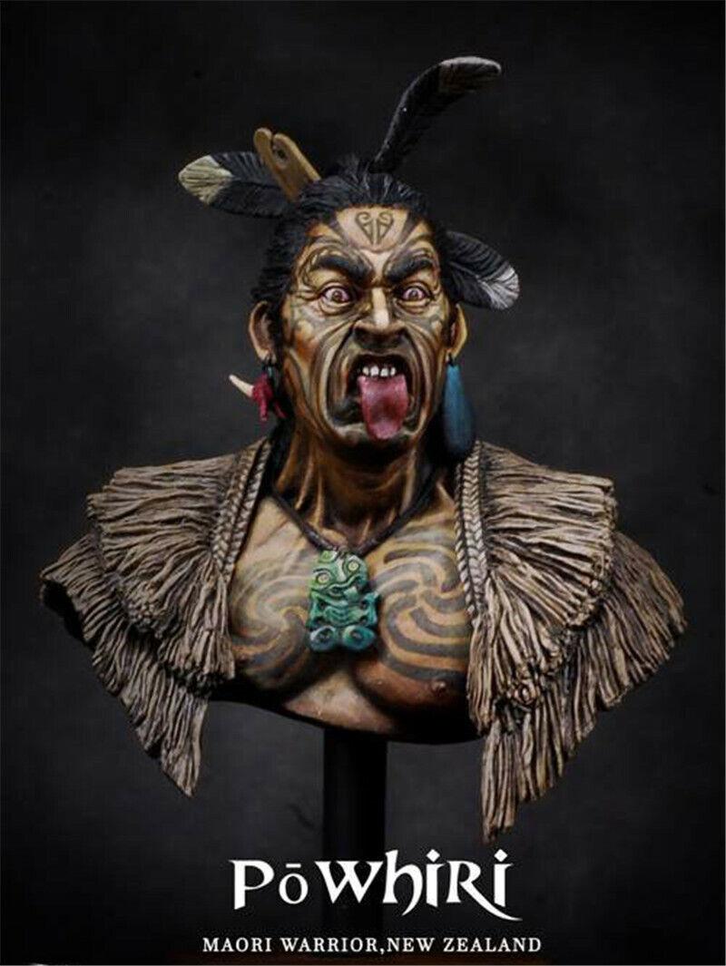 1  10 Nya Zealand Maori Warriors busst hkonsts Kits Unassembled modelllllerler GK