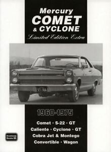 Mercury-Comet-And-Cyclone-And-S-22-Book-Of-39-Magazine-Articles-On-1960-1975