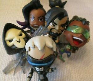 Reaper Clear Chase Blizzard Cute But Deadly Series 3 Overwatch Figure