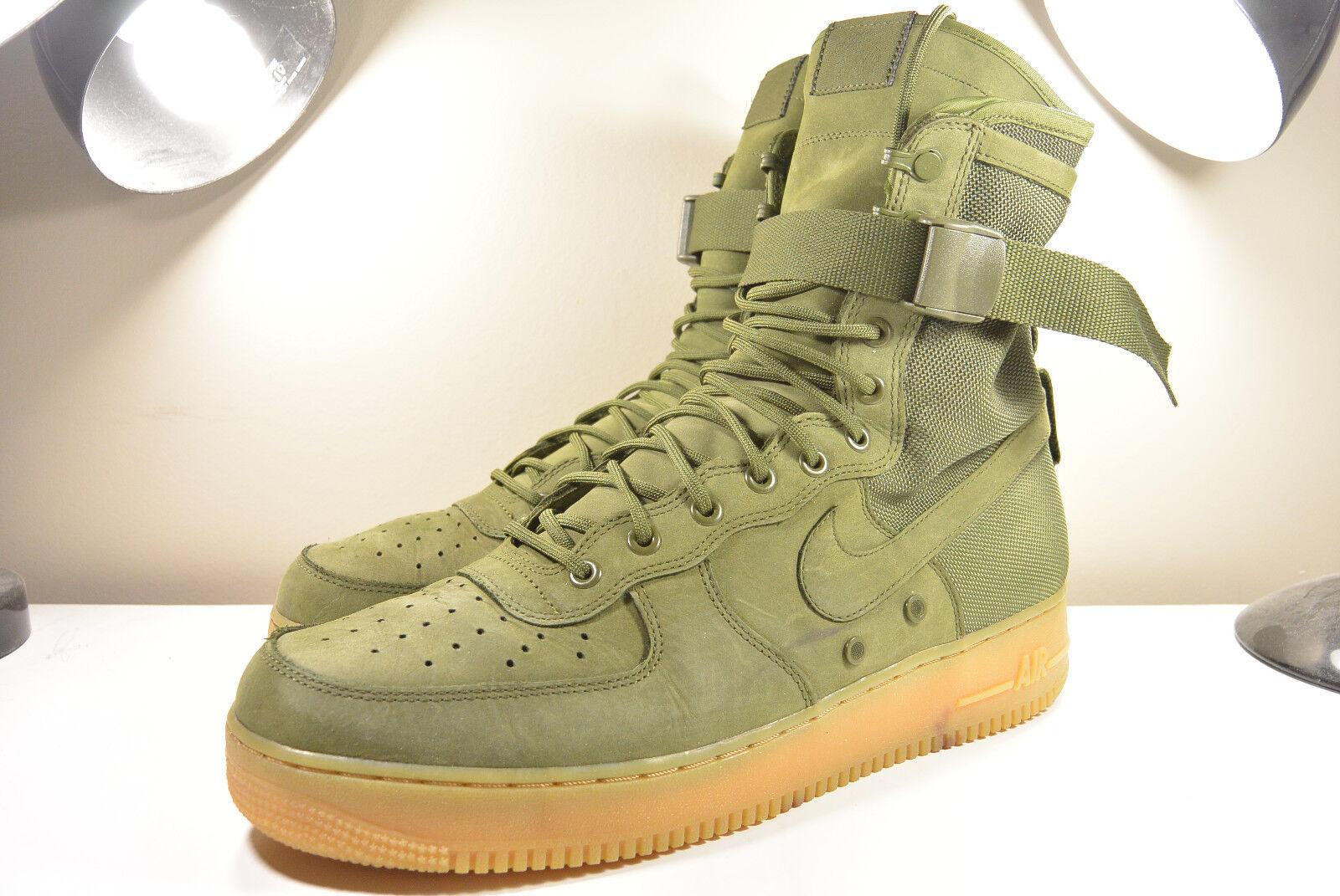 Nike 2016 sf af1 air force 1 speciale feild urban utilità svanire verde oliva 13