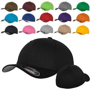 Original-FLEXFIT-Basecap-Baseball-Cap-Muetze-Kappe-Wooly-Combed-6277