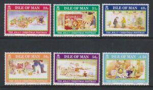 Isle-of-Man-2008-Christmas-set-MNH-SG-1467-72