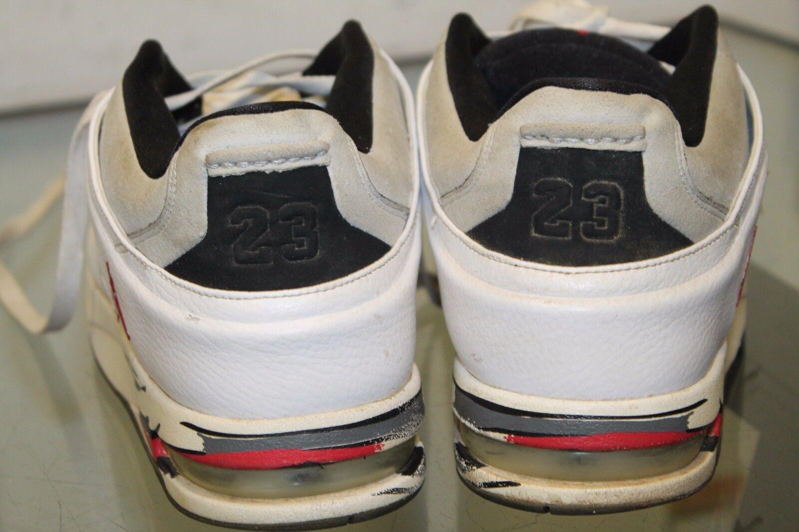quality design 41524 02d64 ... Nike jordan jordan jordan zapatillas de baloncesto blanco negro de cuero  clásico de 23 317770- ...