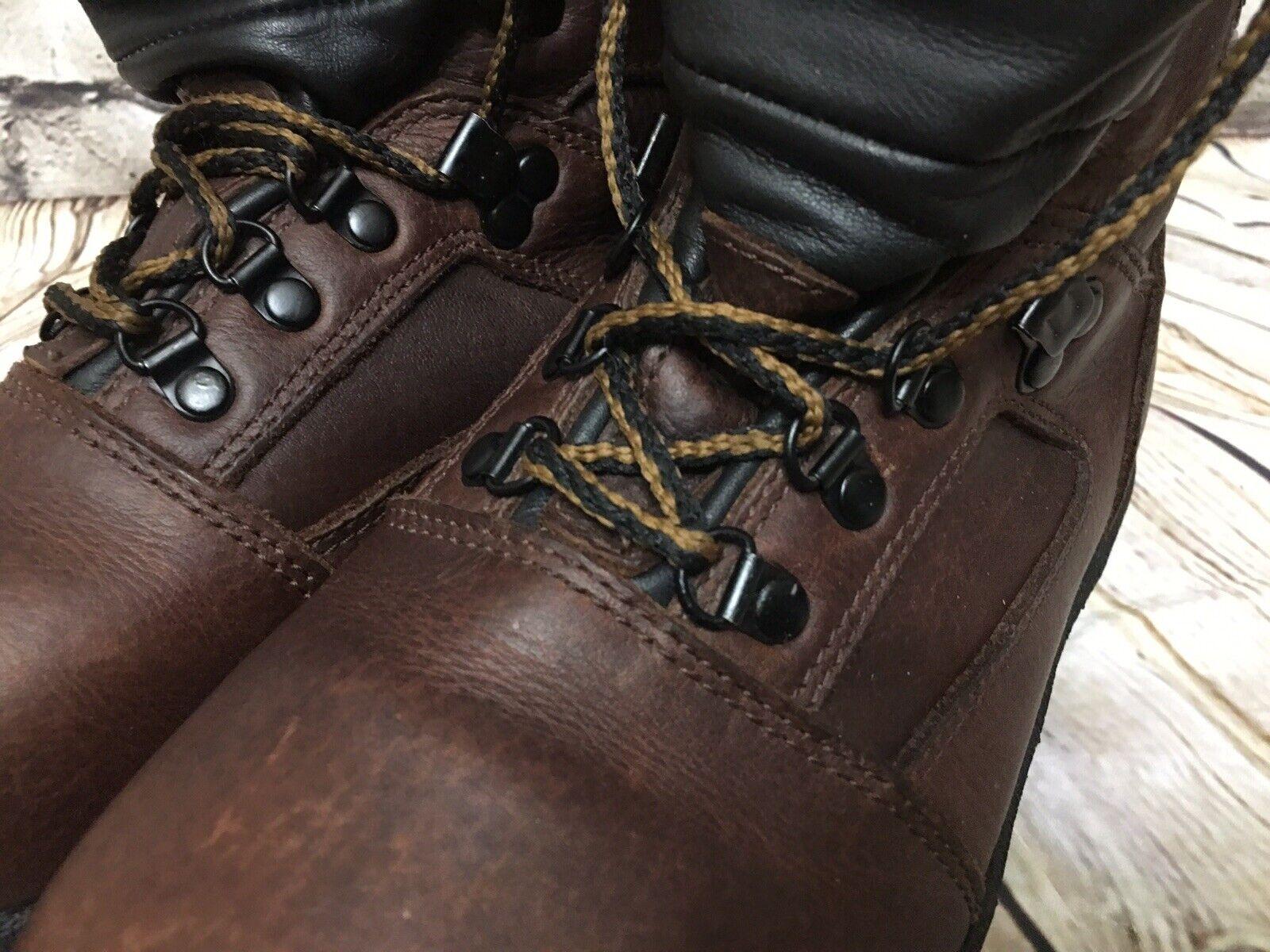 Vintage L L L L Bean Goretex Leather Hiking Boots Womens Sz 8 79b233