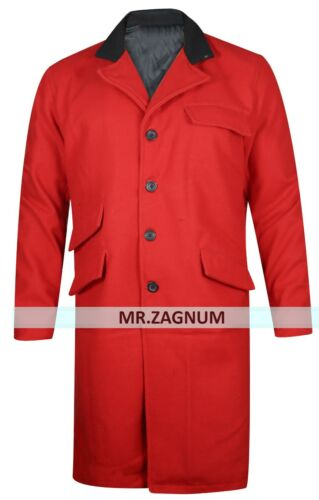 Greatest 3xl The Coat Hugh Showman Xxs Jackman Trench Red wAgqfg