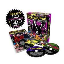 Los Violadores Fundamentales BoxSet 81-87 2016 4cd+dvd+Book Punk Rock Argentina