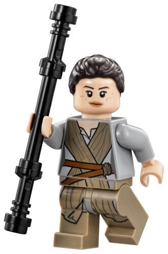 LEGO Star Wars 75099 Rey/'s Speeder Rey Minifigure w// Staff