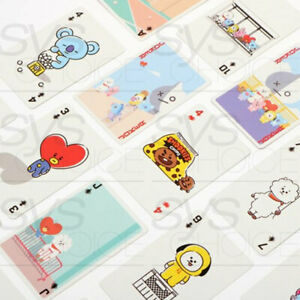 BTS-BT21-Official-Authentic-Goods-Playing-Card-Game-Trump-Tracking-Number