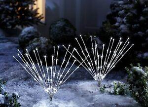 Gartenstecker Weihnachten.Details Zu Led Gartenstecker Mira 60 Led S Lichterbaum Weihnachtsbeleuchtung Weihnachten Ds