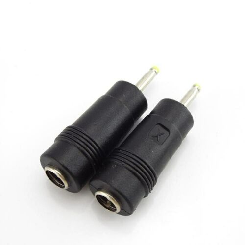 DC Power Adapter Connectors 5.5x2.1mm Female to 2.5x0.7mm Male Charger Jack Plug