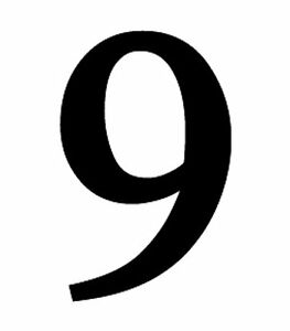 New large black metal 6quot house numbers wrought iron for Black metal house letters