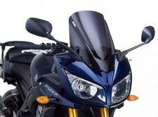 Puig Racing Windscreen 2006-2013 Yamaha FZ1 Fazer Dark Smoke / 4061F