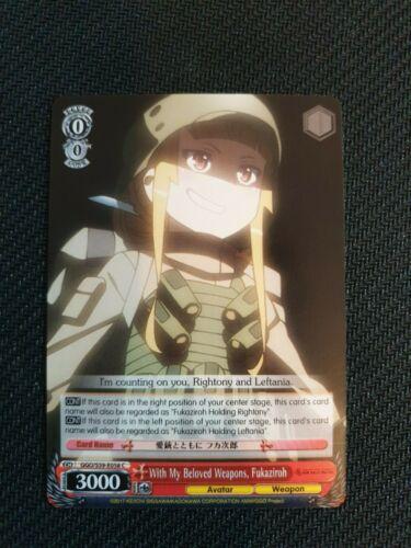 Weiss Schwarz Sword Art Online Gun Gale Online Cards GGO//S59-E001-E100