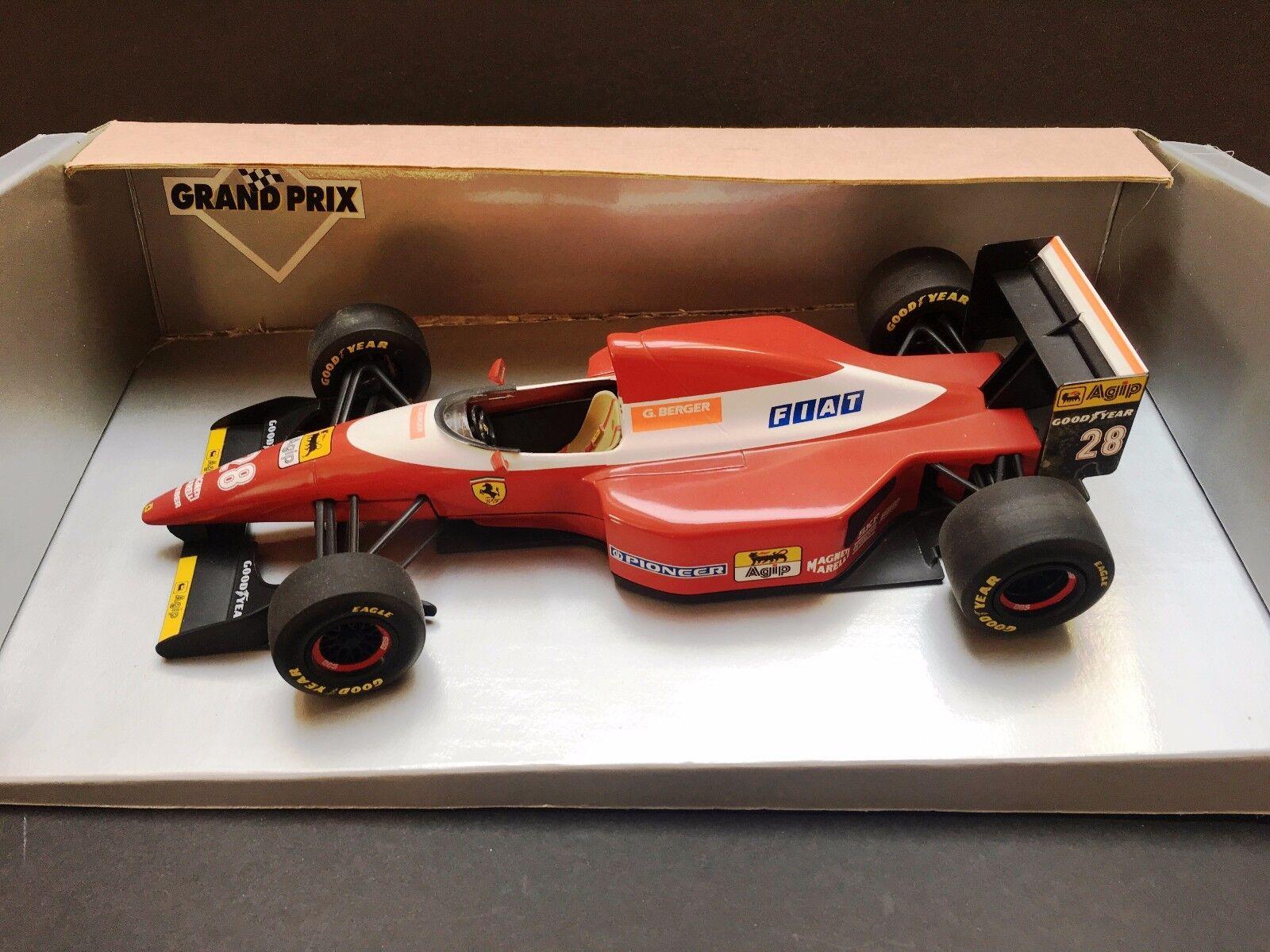 Minichamps - Gerhard Berger - Ferrari - F93A - 1993 - 1 18 - Very Rare