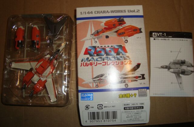 MACROSS 1/144 CHARA-WORKS 2 VT-1 SUPER OSTRICH MOVIE VERSION F-TOYS 2008