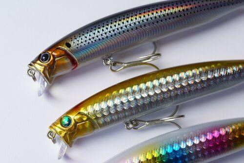 Shallow Feed minnow 128mm 105mm bass sea fishing lure momolures