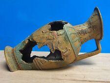 Egyptian Jug Decoration Aquarium Ornament Fish Tank New