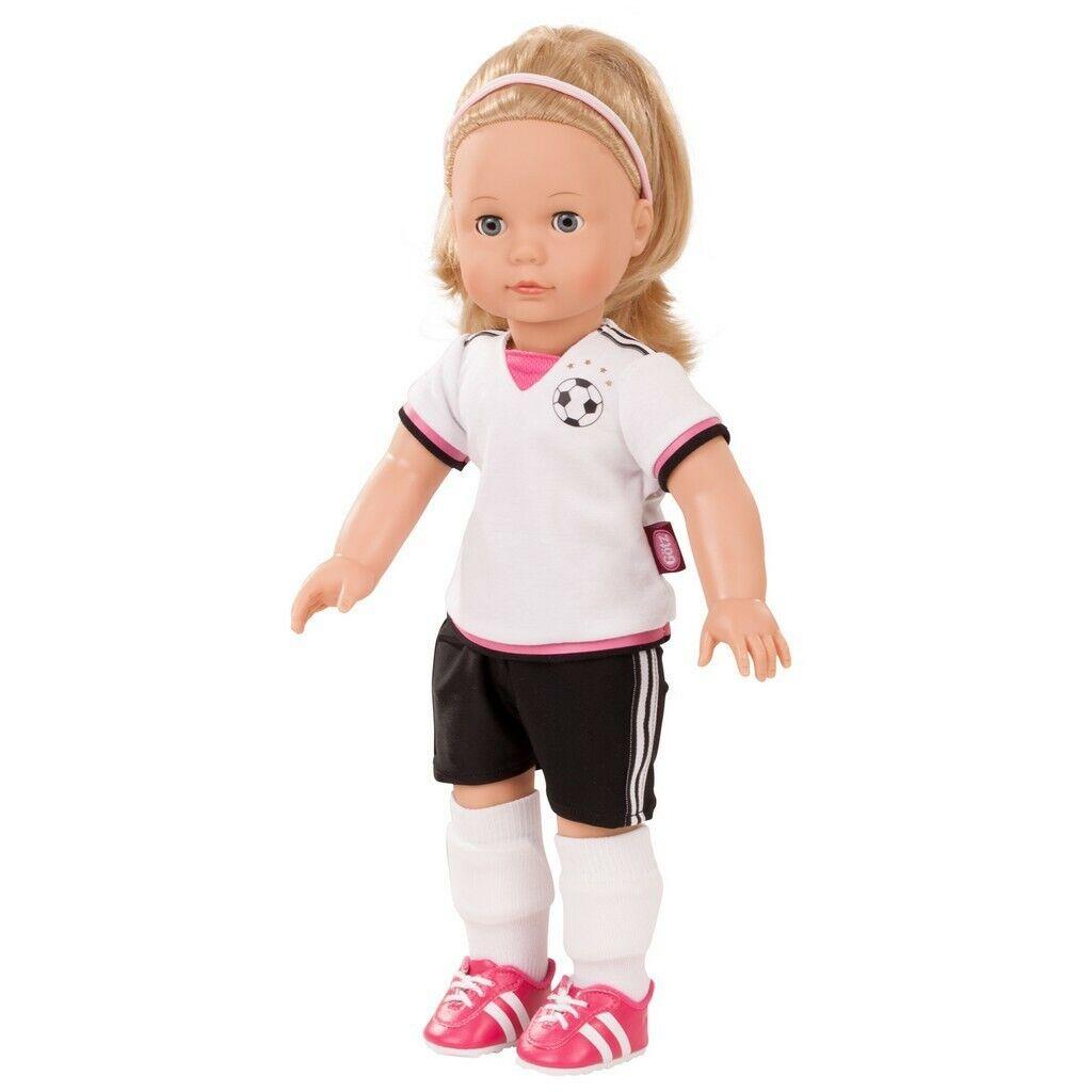 Gotz Precious Day Jessica Soccer 46cm Doll