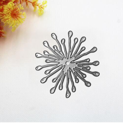 1Pc Flower Metal Cutting Dies DIY Scrapbooking Stencil Album Paper Card Craft