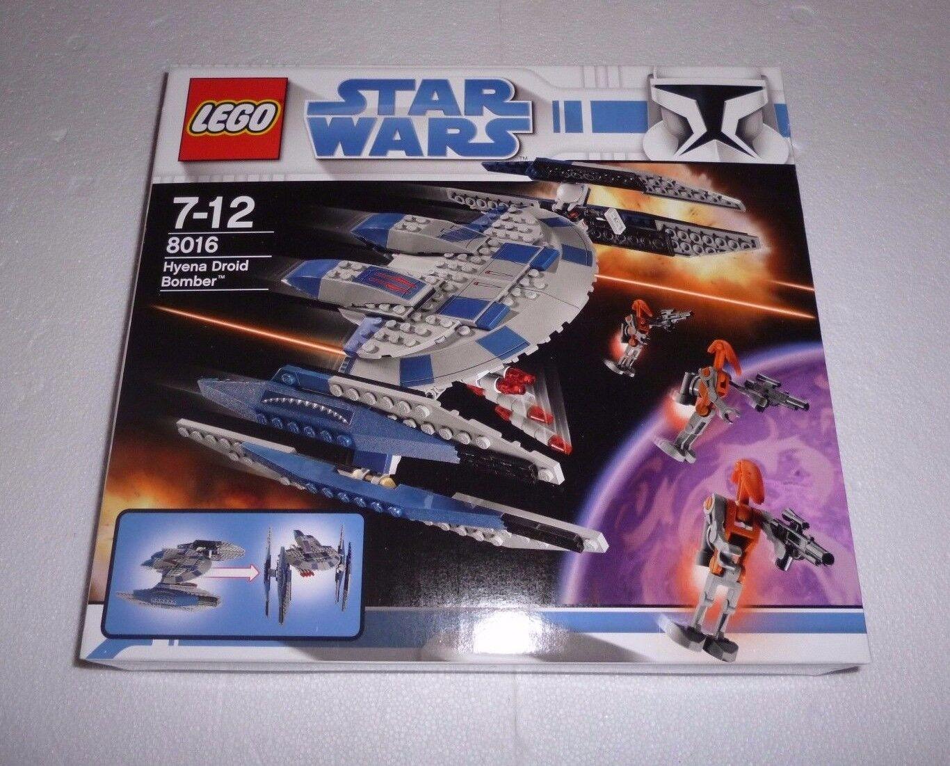 Lego Star Wars hyènes Droid Bomber (8016) NEUF NEW NEUF dans sa boîte