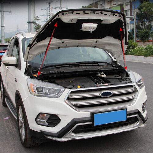 Engine Hood Lift Support Shock Strut Damper 2pcs For Ford Escape Kuga 13-18