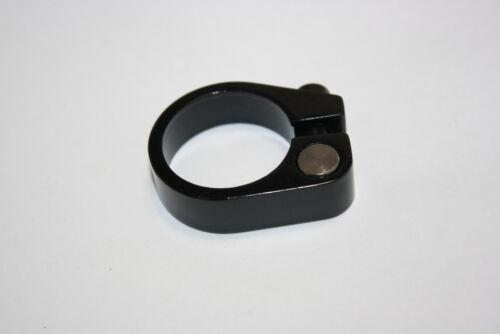 Alu Sattelklemme mit Imbusschraube 31.8mm schwarz Felt Sattelklemmschelle