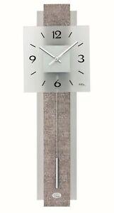 Ams-ripetta-7322-Moderne-Horloge-Murale-avec-Quartzwerk-Alimente-par-Pile