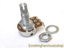 500k ohms type A log guitar pot sub miniature logarithmic potentiometer tone