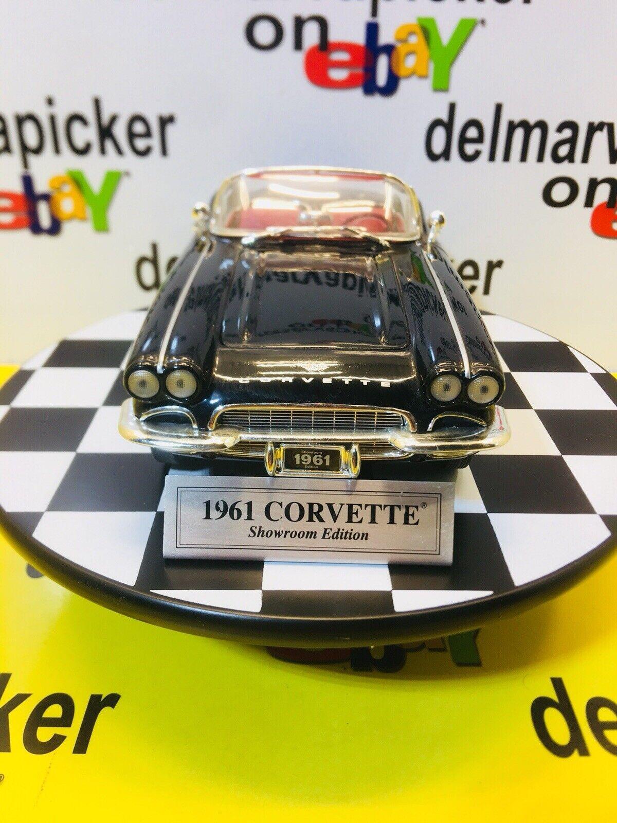Ertl 1961 Chevrolet Corvette nero