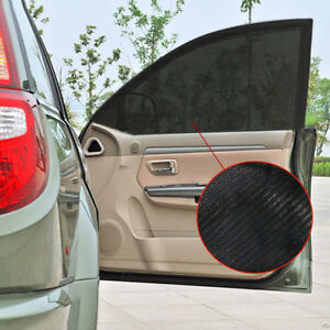 686ac6a35b9 2pcs Car Sun Shade Cover Blind Mesh Max UV Protection for Rear Side Window  Kids