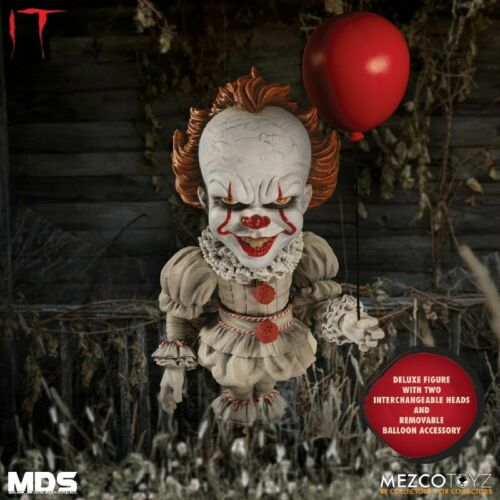 Mezco-MDS 6 pollici-Deluxe IT Pennywise