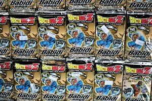 dragonball Z ccg cards 2003 score packs  badidi saga collectable card game 25LOT