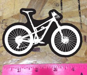 Black//White Mountain Bike Sticker Decal Graphic Bicycle Enduro MTB DH Downhill