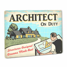Mco architect gift blueprint paperweight ebay architect on duty sign male gift drafting blueprint set design plans cad decor malvernweather Images