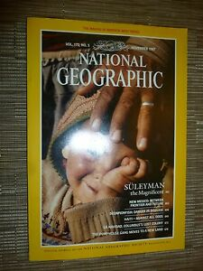 National Geographic  SULEYMAN THE MAGNIFICIENT  NOVEMBER 1987 - London, United Kingdom - National Geographic  SULEYMAN THE MAGNIFICIENT  NOVEMBER 1987 - London, United Kingdom