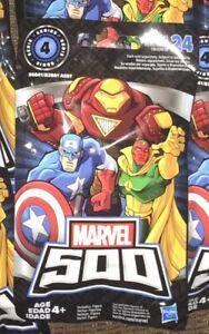 Marvel-500-Series-4-Mini-Figure-Blind-Bags-Lot-of-11