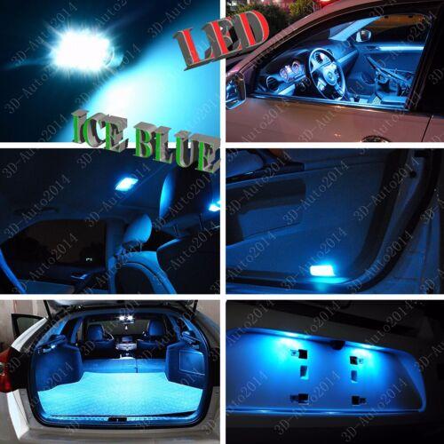 11pcs LED ICE Blue Light Interior Package Kit for Infiniti Q50 Q60 2014-2016