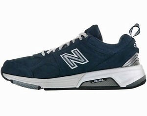 5e2b65ee3c847 New Balance Mens Trainers Shoes Navy/White MX857NS Choose Size Free ...