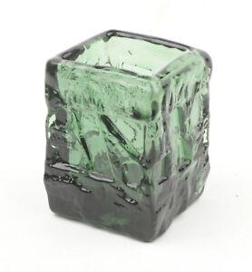 Ruda-Glasbruk-Sweden-Dark-Green-Turkos-Vase-by-Gote-Augustsson-1960s-4