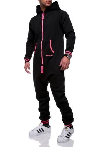 Uomo Overall Jumpsuit Onesie tuta sportiva tuta jogging pantaloni pantaloni sportivi