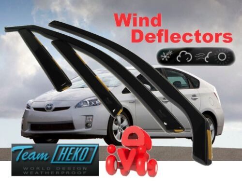 Toyota Prius III 2010-2015 5 puertas de viento desviadores 4.pc Heko 29626