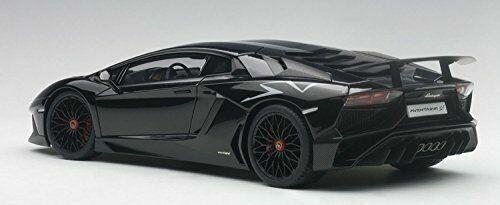 2015 Gloss Black Autoart 74556-1//18 Lamborghini Aventador Lp750-4 Sv